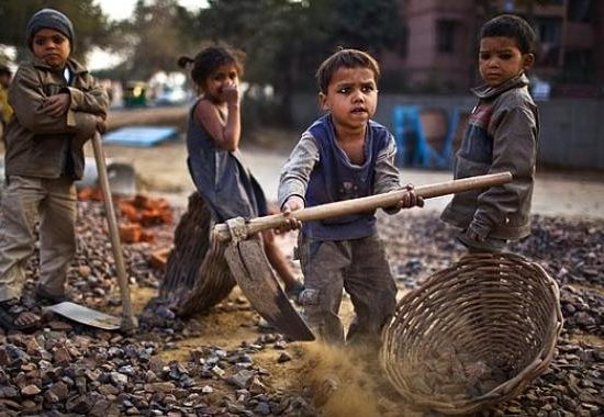 THE CHILDHOOD AT INDIA
