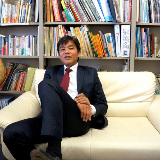 Professor Daisuke Onuki. Tokai University