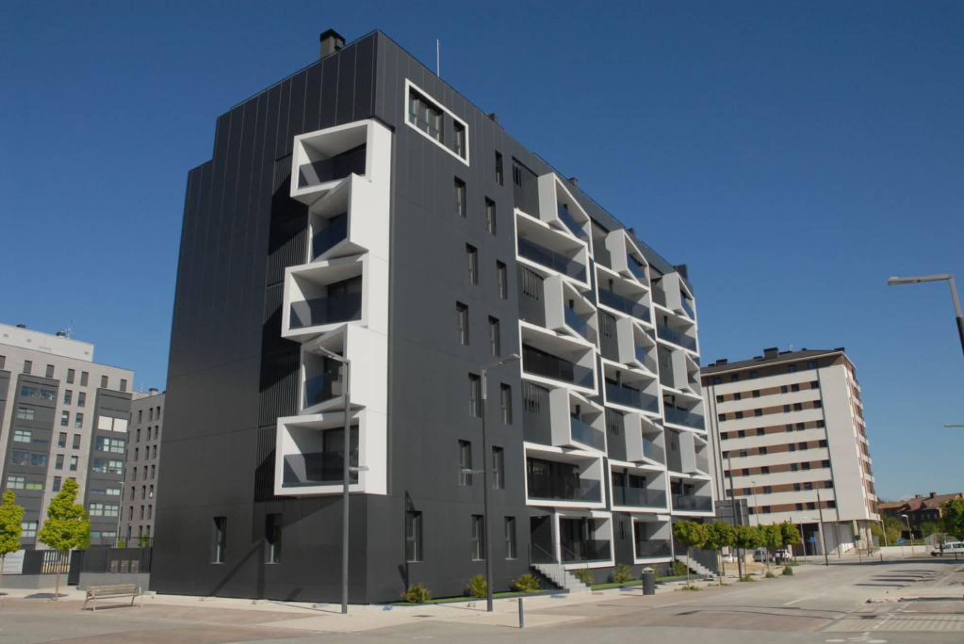 Edificio con certificado passivhaus, situado en Pamplona